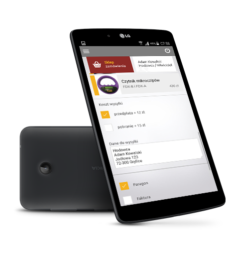 Aplikacja mobilna CBDZOE na Android