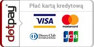 Płać kartą kredytową w CBDZOE